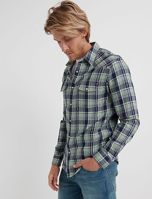 Double Weave Western Shirt