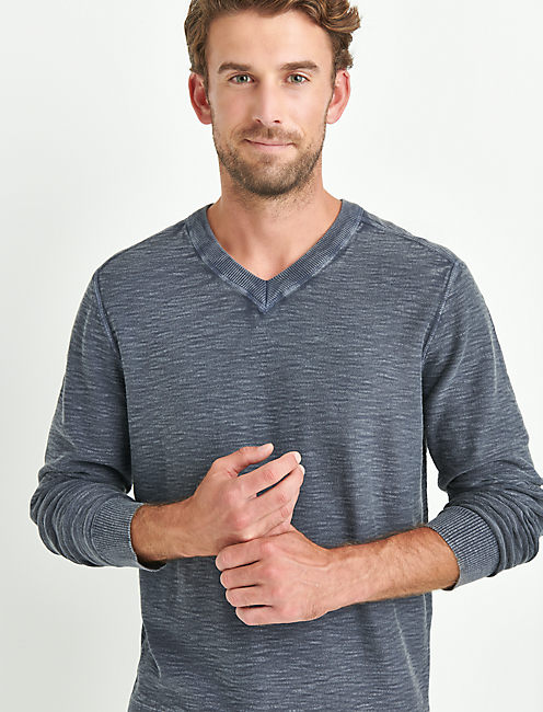 WELTER WEIGHT WASHED V-NECK,