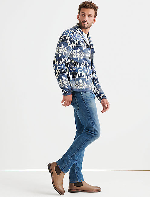 Lucky Ombre Heritage Shawl Cardigan