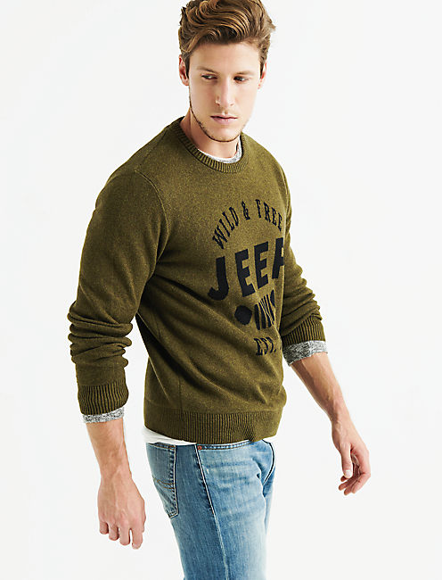 JEEP GRILL SWEATER,