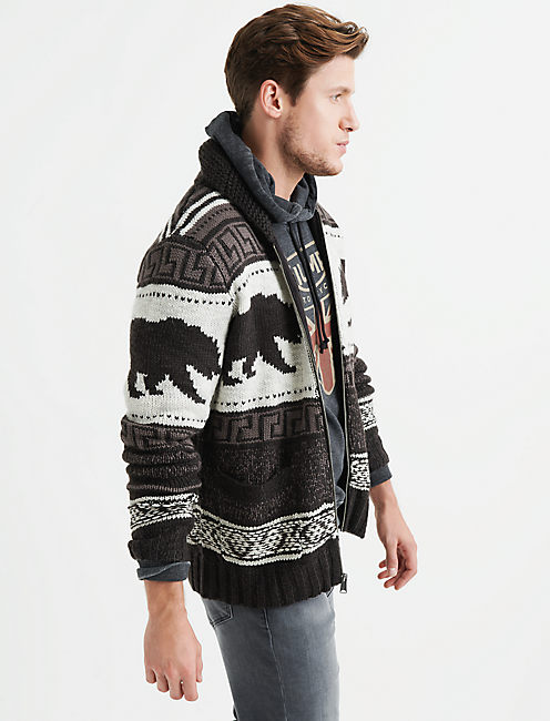 Lucky Bear Cardigan