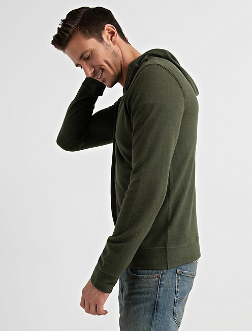 Lucky Textured Terry Hoody