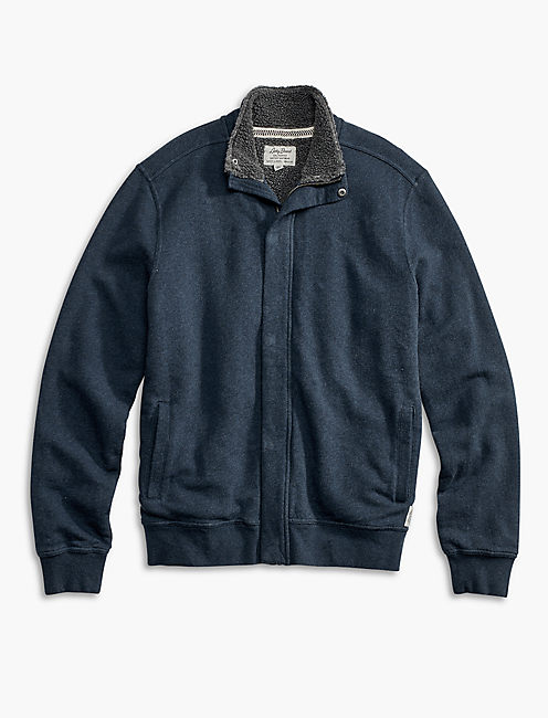 SHERPA MOCK NECK JACKET,
