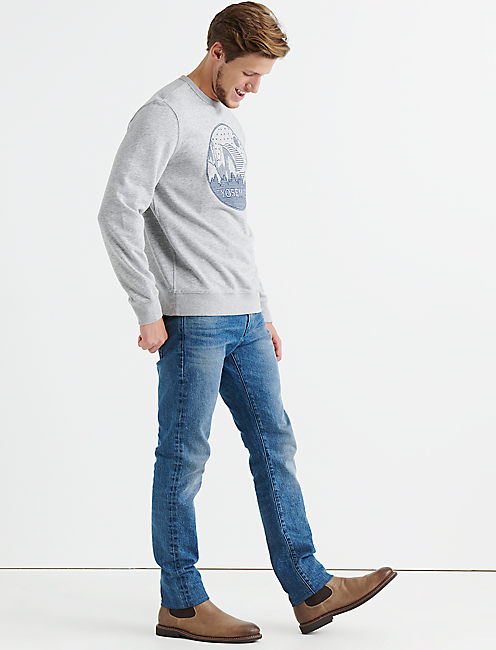 Lucky Yosemite Embroidery Sweatshirt