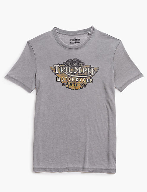 TRIUMPH FASTEST WING TEE,