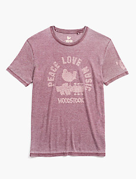 WOODSTOCK PEACE & LOVE TEE