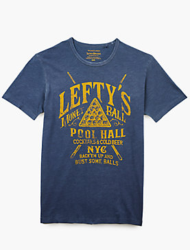 LEFTYS POOL HALL SS TEE