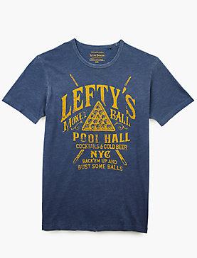 LEFTYS POOL HALL Short Sleeve TEE