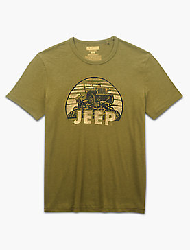 JEEP ON THE ROCKS TEE