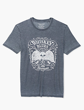 WHISKEY BLUES TEE