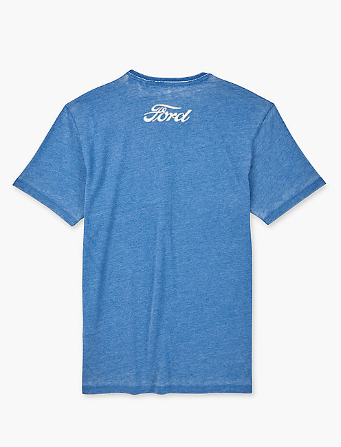 FORD OVAL FLAGS TEE, MONACO BLUE