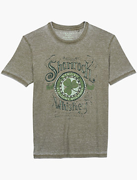 SHAMROCK WHISKEY TEE