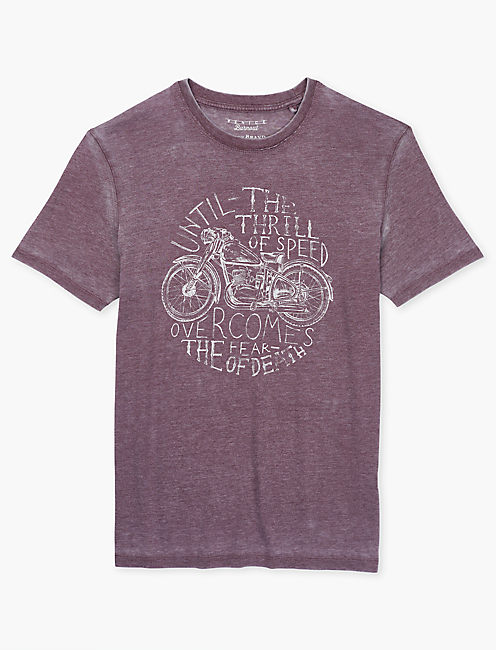 THRILL OF SPEED TEE, PORT ROYALE