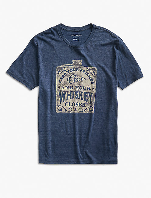 WHISKEY CLOSER TEE,