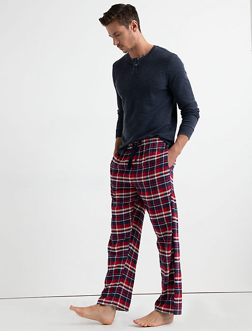 Lucky Cotton Viscose Flannel Pant