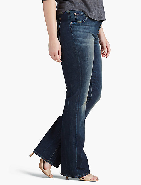 Lucky Plus Size Emma Bootcut Jean In Irvine