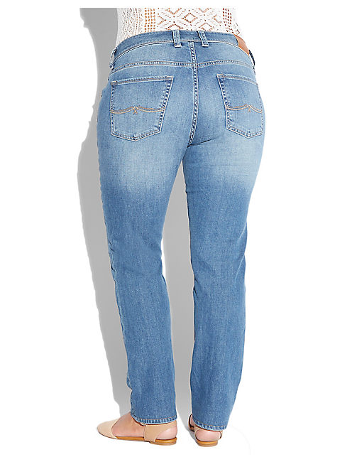 PLUS SIZE GEORGIA STRAIGHT LEG JEAN IN SARASOTA,