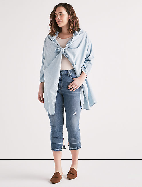 KNOTTED & DRAPED TOP,