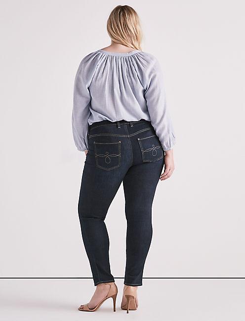 Plus Ginger Skinny Jean,