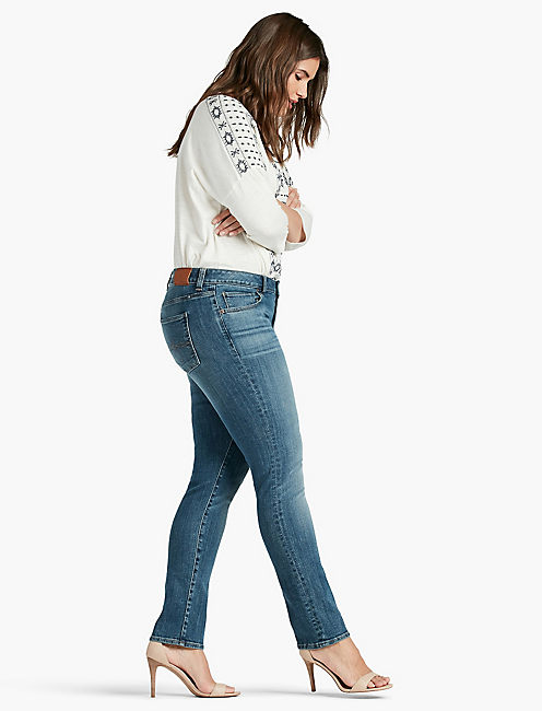 Lucky Plus Size Ginger Straight Leg Jean In Morrison
