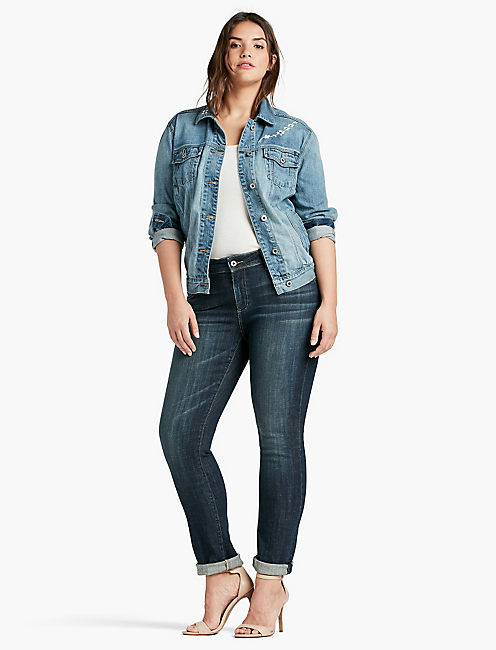 Lucky Plus Size Reese Boyfriend Jean In Matira