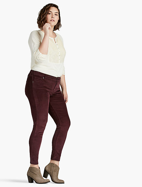 Lucky Plus Size Ginger Skinny Jean In Moxie