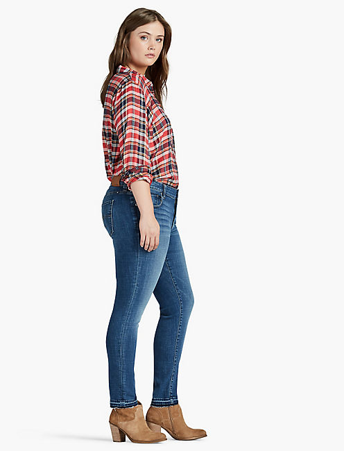 PLUS SIZE GINGER SKINNY JEAN IN BLISS,