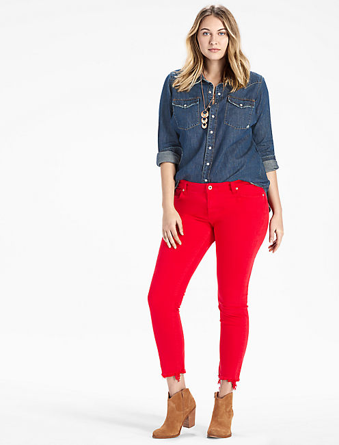 Lucky Plus Size Ginger Skinny Jean In Bedford