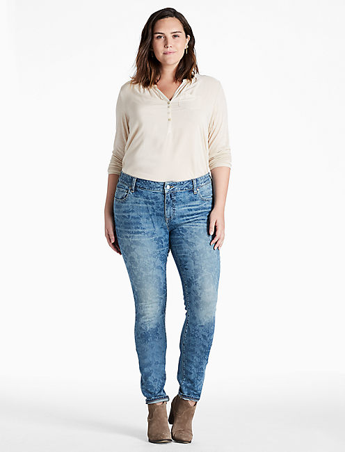 Lucky Plus Size Ginger Skinny Jean In Belton