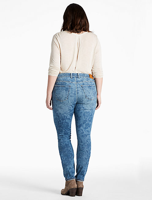 PLUS SIZE GINGER SKINNY JEAN IN BELTON,