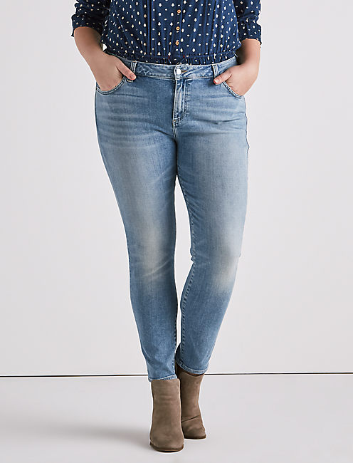 Plus Ginger Skinny Jean, SIERRA TRAIL-P