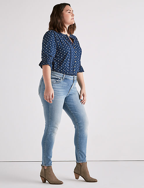 Lucky Plus Size Ginger Skinny Jean In Sierra Trail