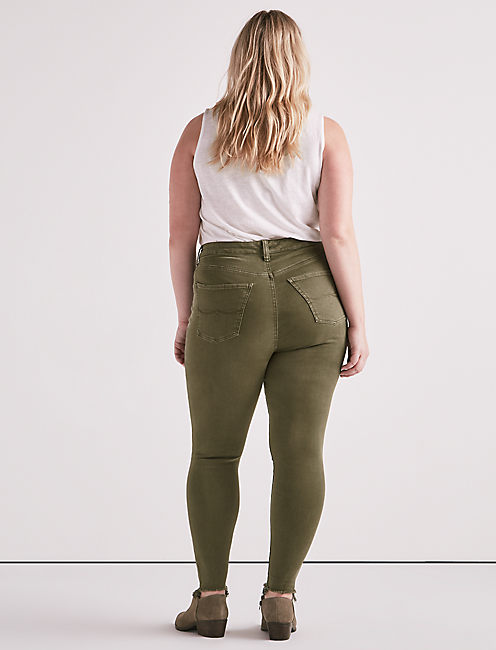 PLUS SIZE EMMA LEGGING JEAN IN OPAL,
