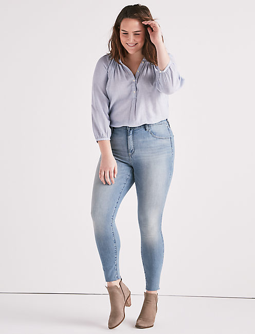 Lucky Plus Size Emma Legging Jean In Stagecoach