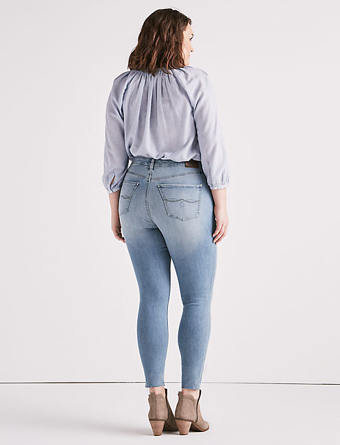PLUS SIZE EMMA LEGGING JEAN IN STAGECOACH,