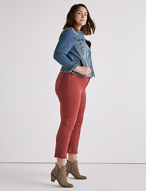 Lucky Plus Size Emma Crop Jean In La Cara