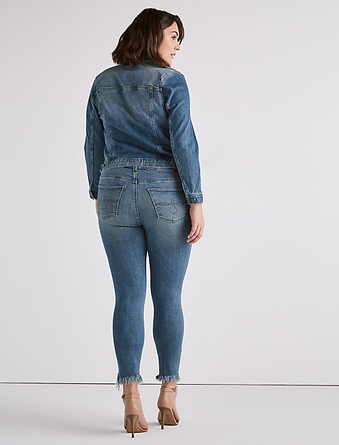 PLUS SIZE GINGER SKINNY JEAN IN THOREAU,