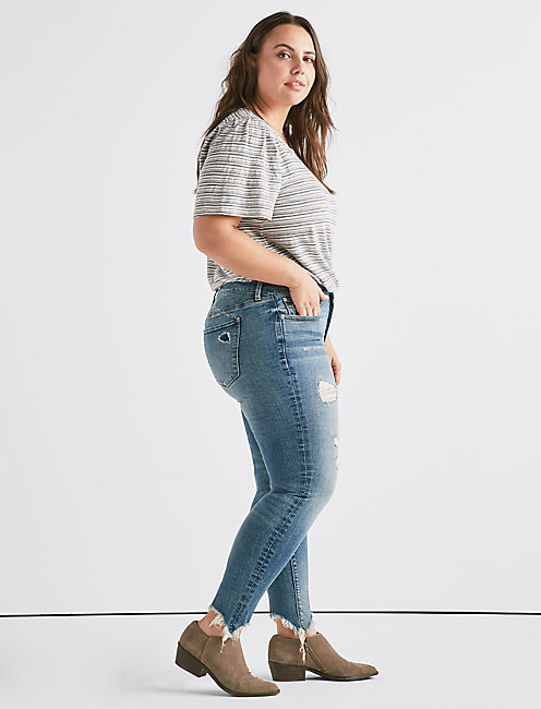 Lucky Plus Lolita Mid Rise Skinny Jean