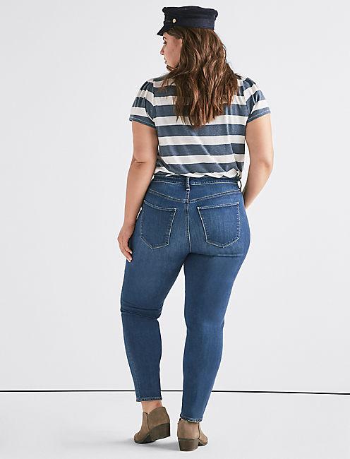 Plus Hayden High Rise Skinny Jean,