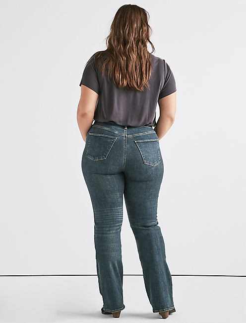 Plus Hayden High Rise Boot Jean,