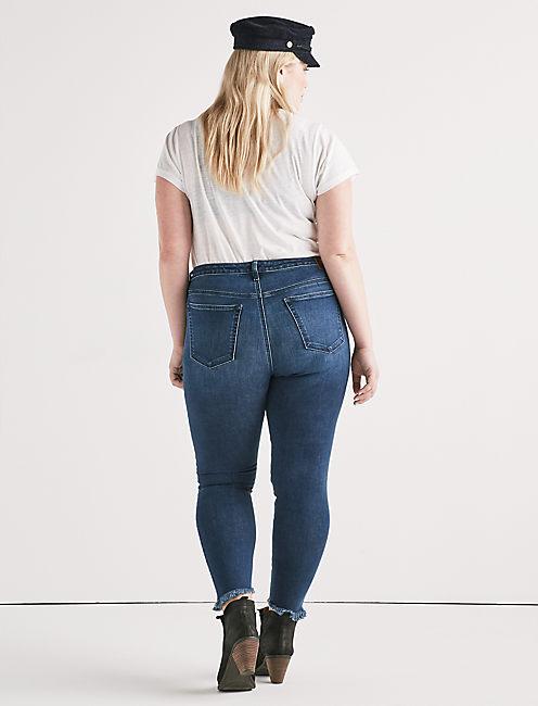 Plus Lolita Mid Rise Super Skinny Jean,