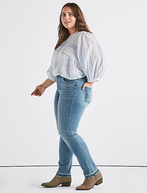 Lucky Plus Hayden High Rise Straight Jean