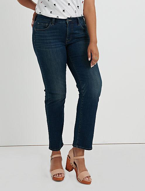 d95703070e1 Plus Size Straight Leg Jeans