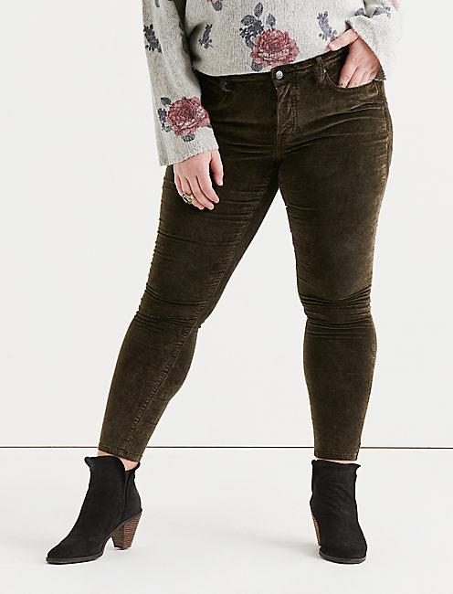d3391dad033 Green Plus Size Lolita Jeans