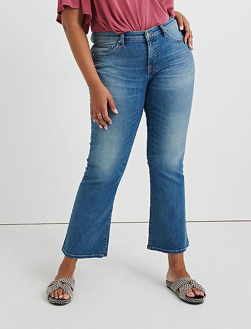 f077c7a4a17 Plus Size Bootcut Jeans