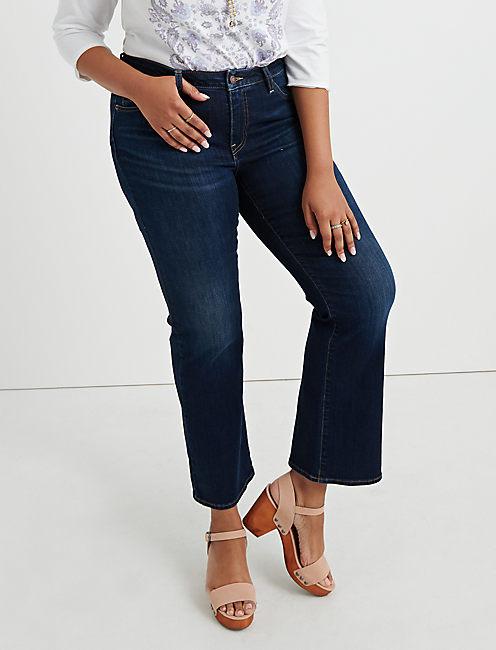 c76ed8ae1fe Blue Plus Size Lolita Jeans. 410 Lolita Boot