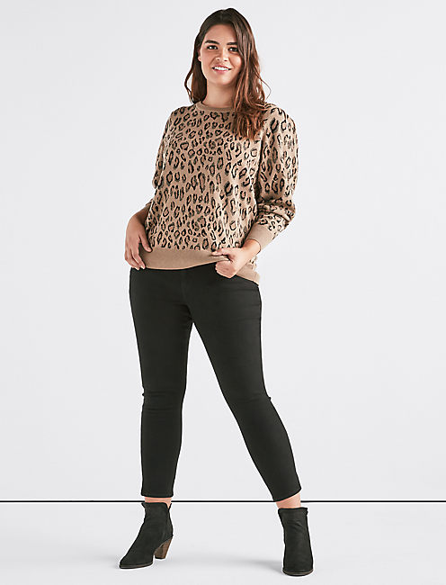 LEOPARD SWEATER,
