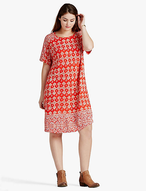 Red Clearance Plus Size Dresses Lucky Brand