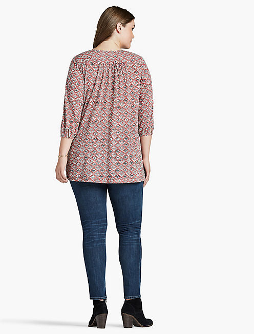 DIAMOND WOODBLOCK TOP,