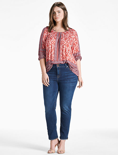 PLACED PEASANT TOP,